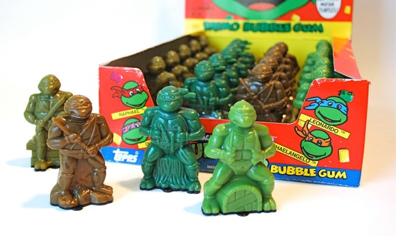 Teenage Mutant Ninja Turtles Candy Container Set of 4