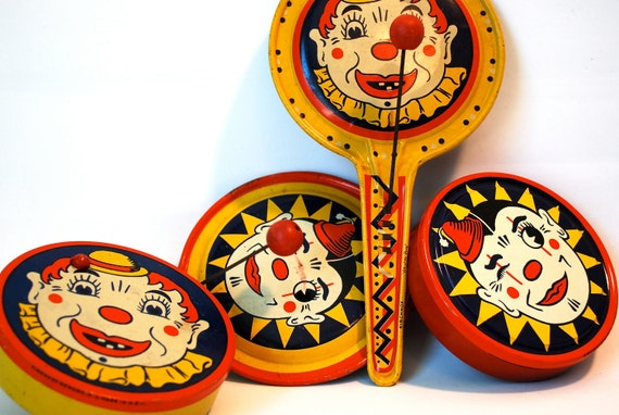 Instant Collection of Tin Noise Makers & Shakers