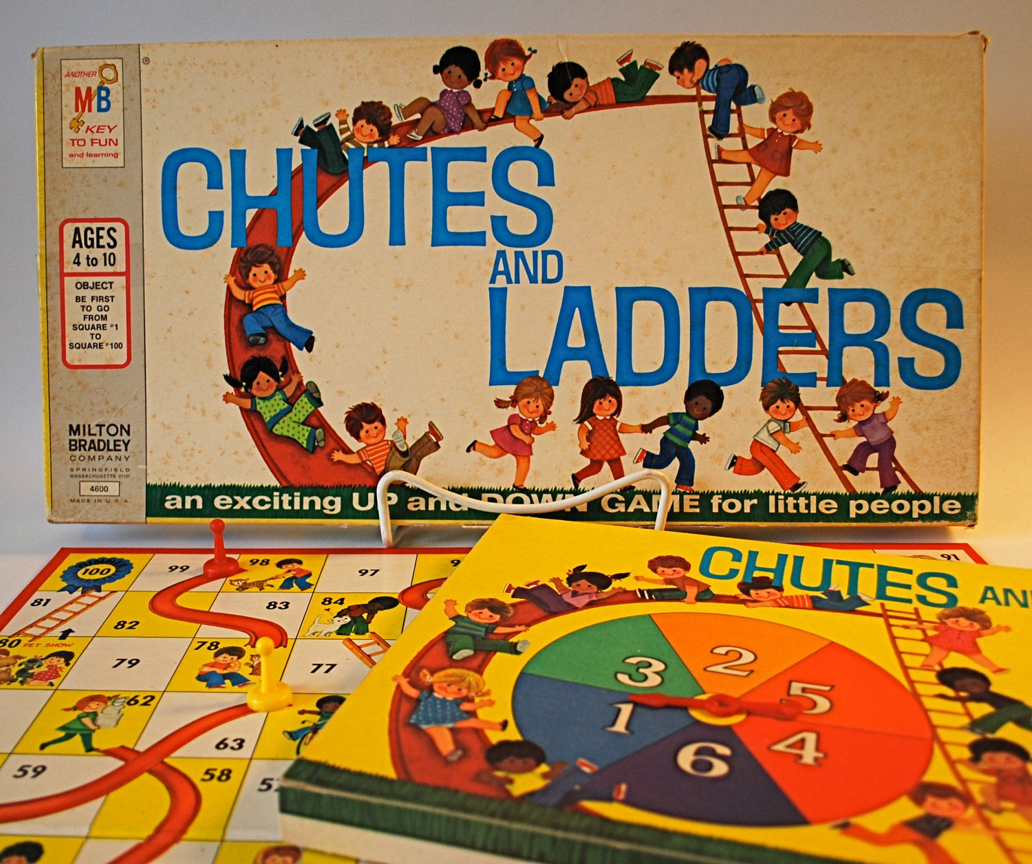Vintage Chutes And Ladders Vintage chutes and ladders