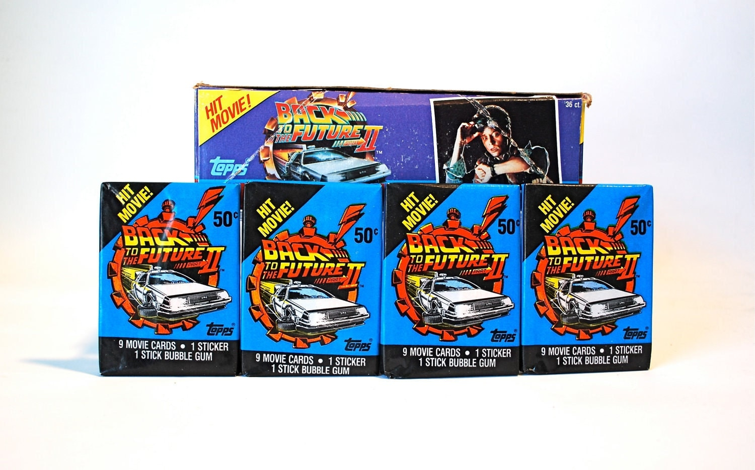 back to the future ii trading cards stickers by wonderlandtoys. Black Bedroom Furniture Sets. Home Design Ideas