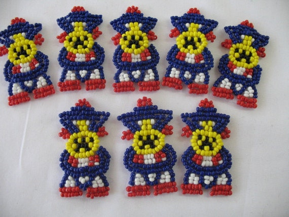 Native American Beaded APPLIQUES
