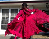 on sale.....FAiRy iN RED.....up cycled elf coat, earth freindly, ooak