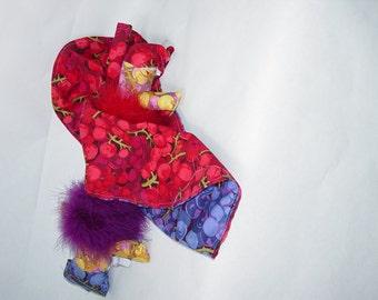 Ooh La La Reversible Doll, Topsy Turvy Doll, Ragdoll, cloth doll