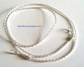 "Silversilk 3 Needle chain 16"" 18"" or 20"""