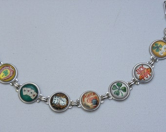 Whimsical Casino Button Bracelet TREASURY LIST