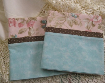 Pink Floral Victorian Pillowcases