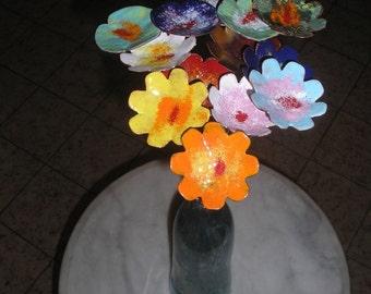 Enameled Flowers