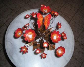 Enameled Flower Arrangement