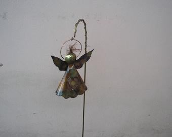 Copper Angel Garden Stake