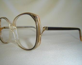 Vintage '80'S Ladies Pierre Cardin Eyeglasses, Made in France - New Old Stock