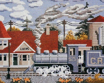 Artistic Julia Lucas DAYS OF STEAM Picture - Counted Cross Stitch Pattern Chart - fam