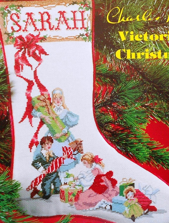 Charles ross victorian christmas stocking joys of giving for Charles craft christmas stockings