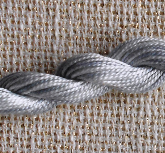 Beautiful Color Variations By DMC 4015 Shades Of GRAY Grey Variegated Thread Floss - For Cross Stitch Hardanger Needlepoint Needlework