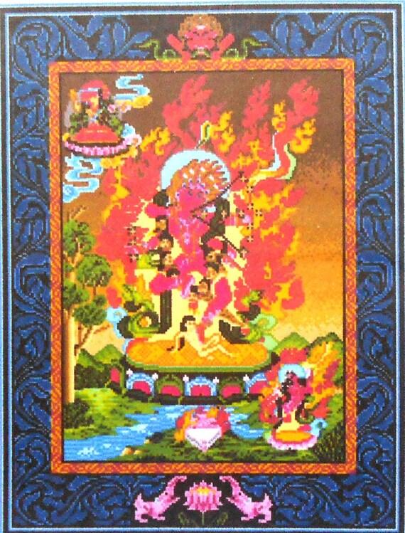 Landmark Tapestries And Charts KURUKULLA Buddhist Art Collection - Counted Cross Stitch Pattern Chart