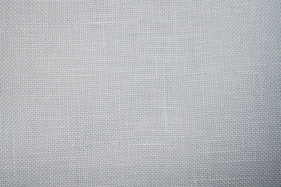 Zweigart Wichelt Imports BELFAST Linen Fabric 32 Ct Count CONFEDERATE GREY Gray Hard To Find Color - For Counted Needlework - 327