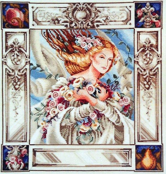 Nora Corbett Mirabilia ELIZABETH And The LAVENDER SKY - Counted Cross Stitch Pattern Chart
