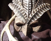 Mask Titled Turkey Man