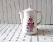 vintage ceramic water or tea pitcher with electric heater