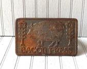 vintage iron bacon press