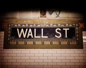 Wall Street Subway, Photography, New York City, NYC, Wall St, City, Urban Photography, Finance, Money, Prosperity, Wealth