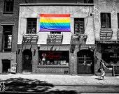 Stonewall Inn Fine Art Print, Gay Pride, Manhattan, Gay, Lesbian, LGBT, New York, NYC, City, Urban, Greenwich Village