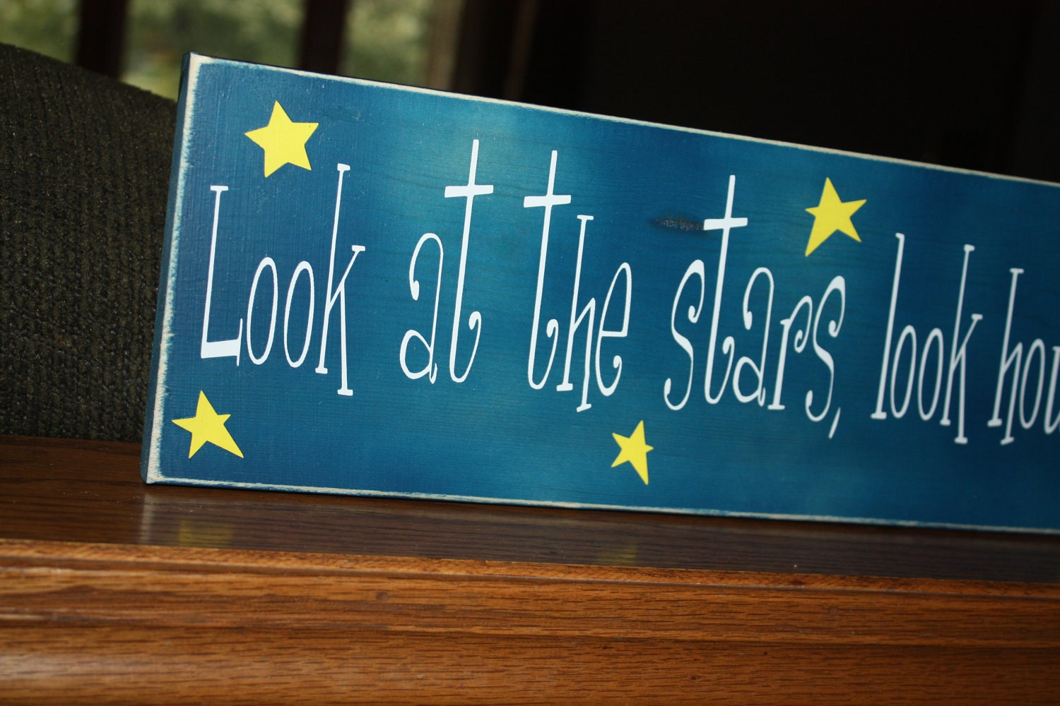 Items Similar To Wooden Sign With Vinyl Letters