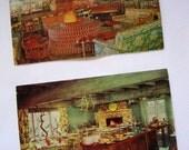 2 Unused Vintage Cards from 'Ricks' in Santa Maria, Ca.