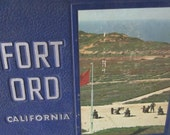 Vintage 1968 Fort Ord US Army Training Year Book with Class Picture