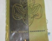 Vintage 1950s Girl Scout Hand Book