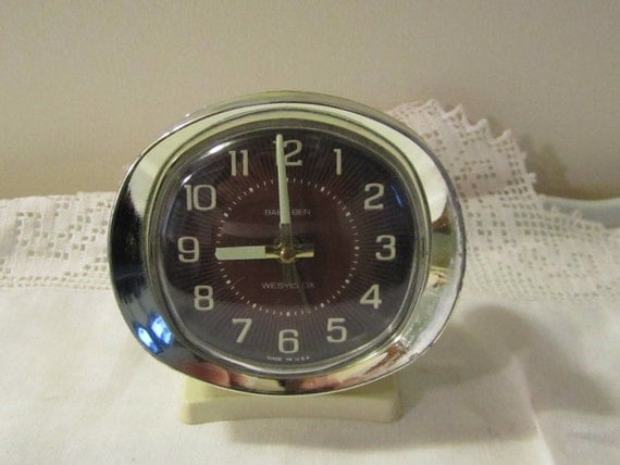 Retro Baby Ben Wind Up Alarm Clock By Gemiem On Etsy