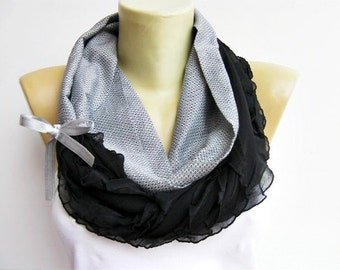 Loop scarf, infinity scarf, mother day gift, gift for her