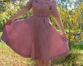 Gorgeous 1950's House Dress