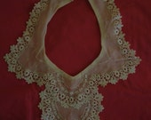 Very old lace collars