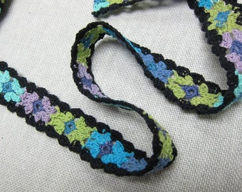 Multi Color Crochet Lace