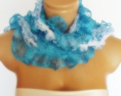 2012 summer fashion scarf new design blue white
