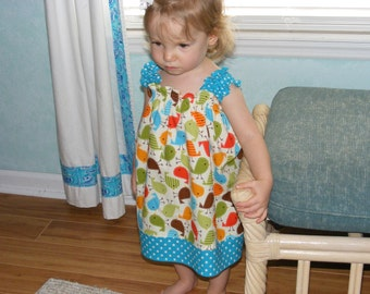 Tweety Bird Shirred Dress (12 mos, 18 mos, 24 mos, 2T, 3T, 4T, 5)
