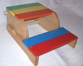 Child's Step stool and chair