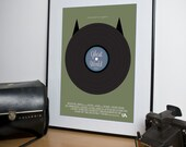 Ghost World A3 Art Print by Visual Etiquette