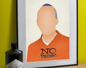 "Arrested Development Art Print (George Snr) A3 or to fit Ribba frame 16.5"" x 20.5"""