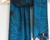 Pashmina Shawl/Teal color