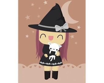 Witch Print 5x7