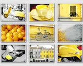 Italy Photography collection - Fine Art Photography - Yellow photography - print, home decor, yellow, vespa, wall decor, italy photography