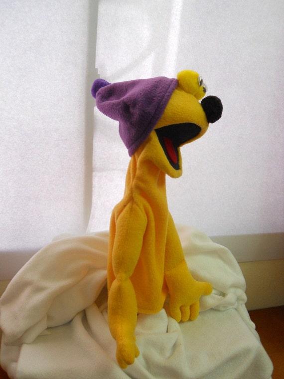 Yellow Hand Puppet
