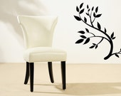 Branch, Branches, Leaf, Leaves, Classic - Decal, Sticker, Vinyl, Wall, Office, Bedroom, Kitchen Decor