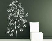 Dandelion Tree, Blooms, Blossoms, Burtonesque - Decal, Sticker, Vinyl, Wall, Home, Bathroom, Bedroom Decor