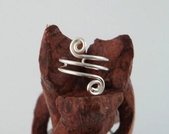 Sterling Silver Ear Cuff - Sterling Ear cuff - ear cuffs - earcuff - earcuffs - helix ear cuff - spiral ear cuff