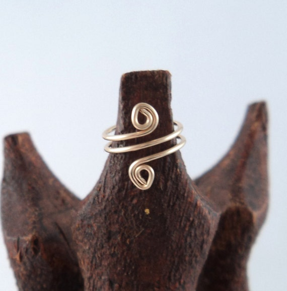 14k Gold Ear Cuff - ear cuffs - earcuff - earcuffs - helix ear cuff - spiral ear cuff
