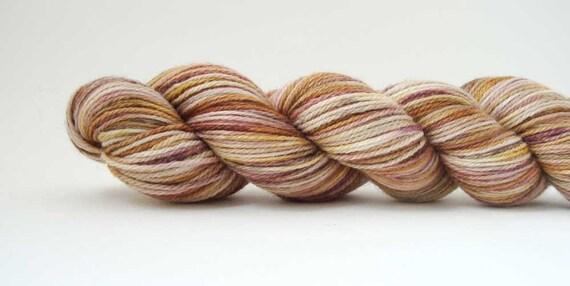 sock yarn SHANTYTOWN 75/25 organic merino/tussah silk 3.5oz / 364 yards