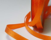 Orange Solid Satin Ribbon 7mm - 10m (11 yards) S 40 143