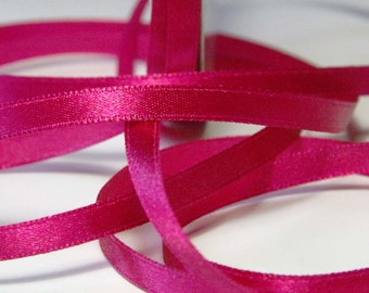 Pink Solid Nylon Ribbon 6mm - 5m (5.5 yards) S 40 063